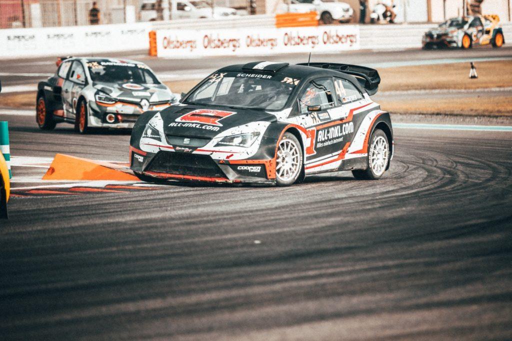 Timo Scheider VLOG#1 RX World Championship Race 1 Abu Dhabi